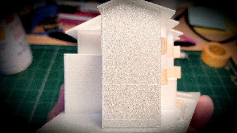 木造三階建て共同住宅(木3共)の屋根