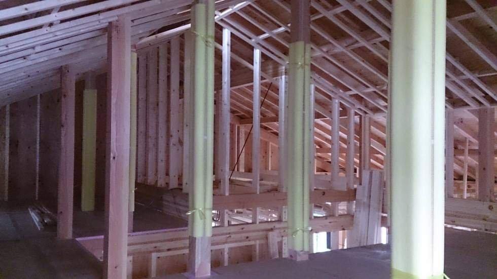 木造三階建て、ネコのためにも小屋裏の有効活用